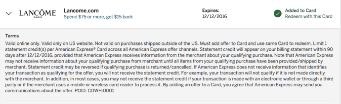 amex offer 1