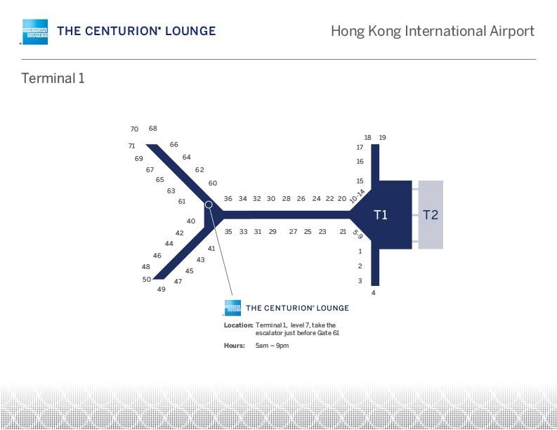Guest Review] American Express Centurion Lounge @ Hong Kong