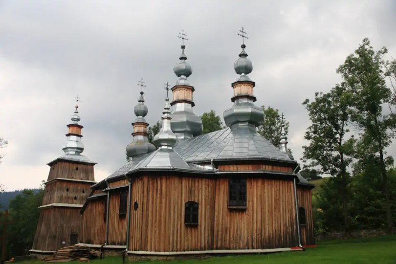 Turzańsk -cerkiew św. Michała Archanioła w Turzańsku