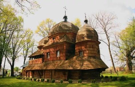 Chotyniec - cerkiew Narodzenia Przenajświętszej Bogurodzicy