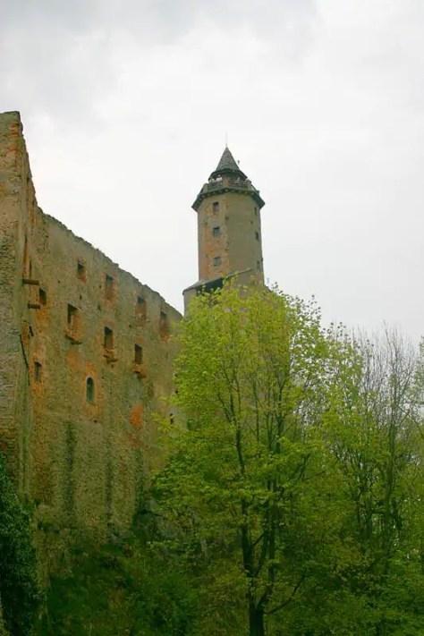Zamek Grodno - wieża