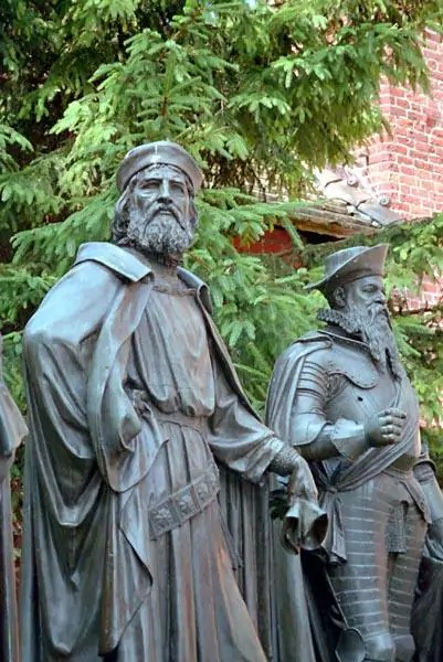 Winrich von Kniprode i Albrecht Hohenzollern-Ansbach