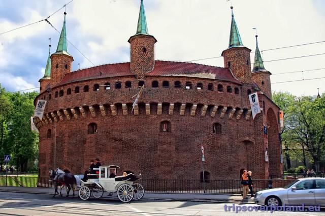 Kraków - Barbakan