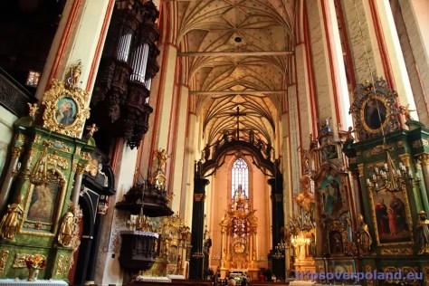 Toruń - Kościół Wniebowzięcia Najświętszej Marii Panny