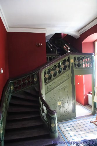 Ostromecko - Nowy Pałac - wnętrza