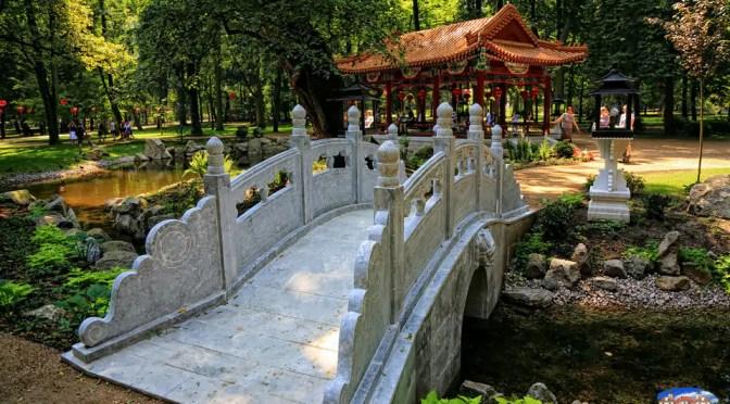 Chińskie atrakcje w Łazienkach Królewskich w Warszawie