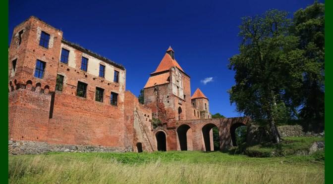 Najpiękniej położone polskie zamki – Szymbark (warmińsko-mazurskie)