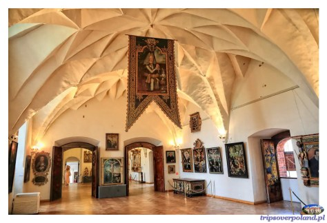 Olsztyn'2015 - refektarz zamkowy ze sklepieniem kryształowym