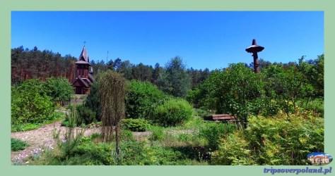 Uroczysko Zaborek - ogród
