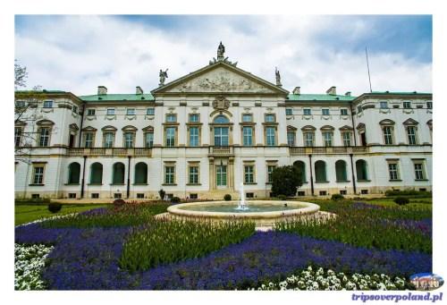 Pałac Krasińskich - nowa elewacja
