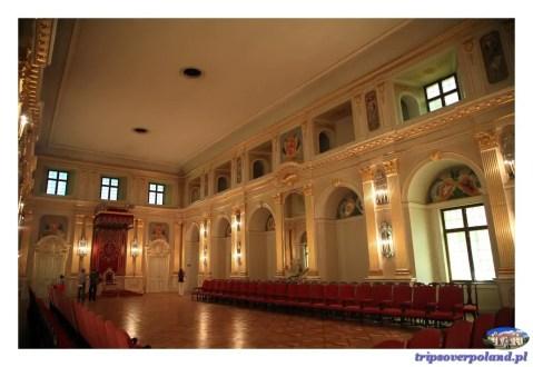 Sala Senatorska w Zamku Królewskim
