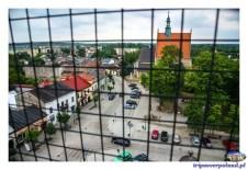 Szydłowiec - widoki z wieży ratuszowej