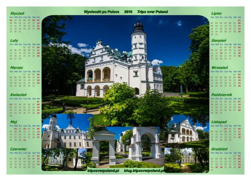 Park i pałac w Poddębicach