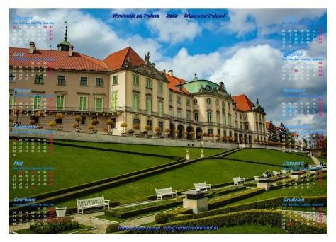 Ogrody górne pod Zamkiem Królewskim w Warszawie