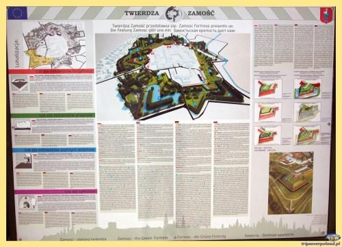 Zamość - zielona twierdza = Zamosc - the Green Fortress