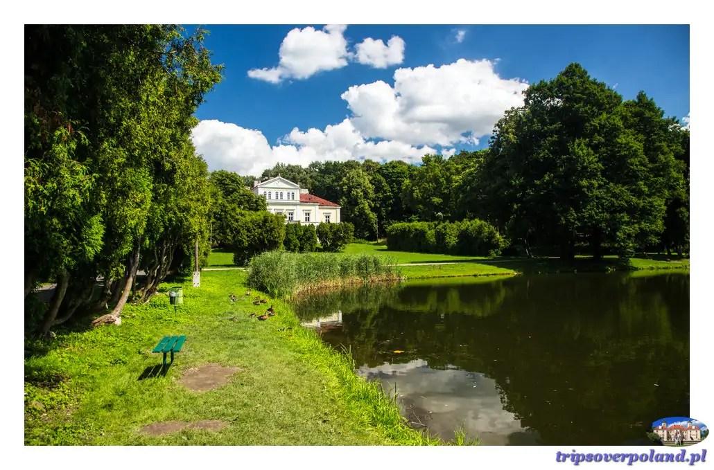 Złoty Potok - Pałac Raczyńskich
