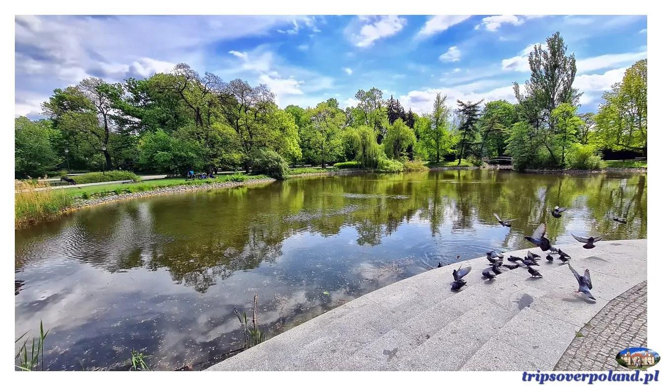Park Ujazdowski w Warszawie