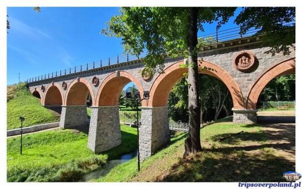 Bytów - zabytkowy most nad Borują