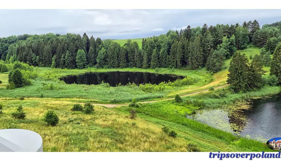 Wybuchające Jezioro Dobellus Mały - Stańczyki