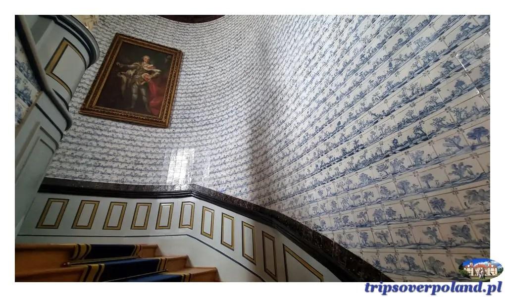 Pałac w Nieborowie'2021 - klatka schodowa