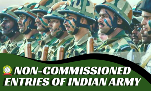 Various Non-Commissioned Entries Of Indian Army