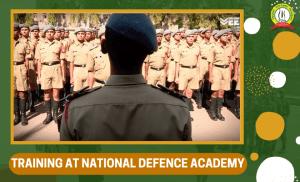 Training at National Defence Academy (NDA)