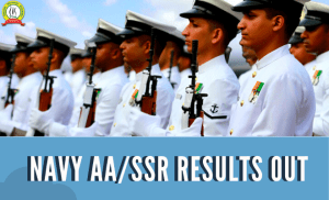 Indian Navy AA/SSR 2020 Results Out