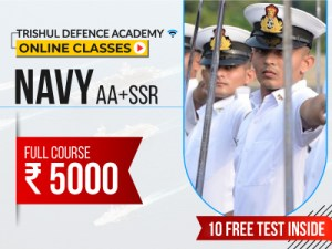 Online Course for Indian Navy AA & SSR