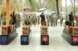 Jammu and Kashmir: Army pays tribute to four soldiers martryred in Pakistani firing