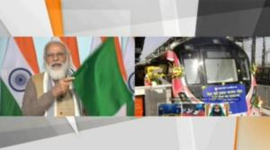 PM Modi inaugurates India's first driverless metro