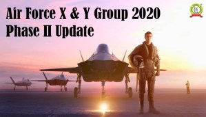 Air Force X & Y Group 2020 Phase II Update