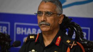 Indian Army Chief General MM Naravane Warns China
