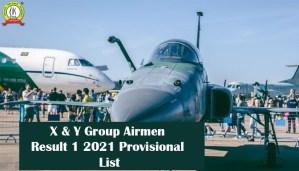 Airmen Result 1 2021 – X & Y Group