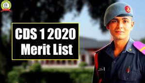 CDS 1 2020 Merit List : Know All Details