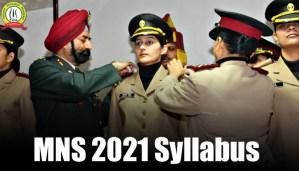 MNS 2021 Syllabus | Army Nursing Syllabus