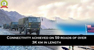 Connectivity Achieved on 59 Roads of Over 3K km in Length