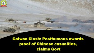 Galwan Clash: Posthumous Awards Proof of Chinese Casualties, Claims Govt
