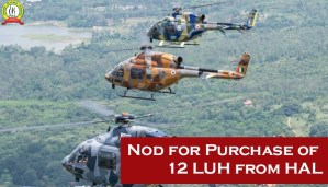 Nod for Purchase of 12 LUH from HAL