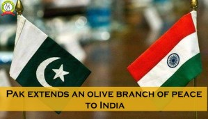 Pak Extends an Olive Branch of Peace to India