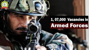1, 07,000 Positions Lying Vacant in Armed Forces