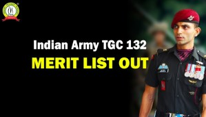 Indian Army TGC 132 Merit List Jan 2021