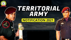Territorial Army Notification 2021 : Check Out All Details