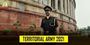Territorial Army 2021 Syllabus