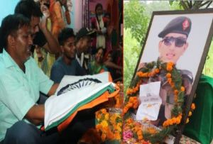 Martyr Himanshu Negi's Funeral Attended By Huge Crowd