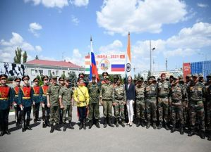 India-Russia's Joint Exercise INDRA begins