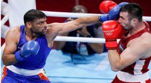 Indian Boxer Major Subedar Satish Kumar Won Hearts At Tokyo Olympics