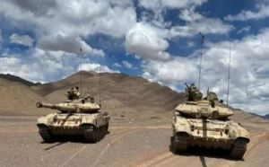 Indian Army Tank Regiments Ready For China At Ladakh Border