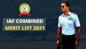 IAF Combined Merit List 2021