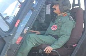 Aviation Corps Chief A.K. Suri Test Fires Swadeshi Rudra Helicopter