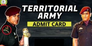 Territorial Army Admit Card 2021
